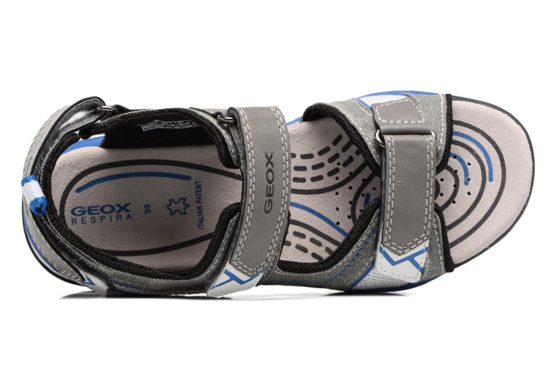 Sandales et nu-pieds Geox J Borealis B. D J720RD Gris vue gauche