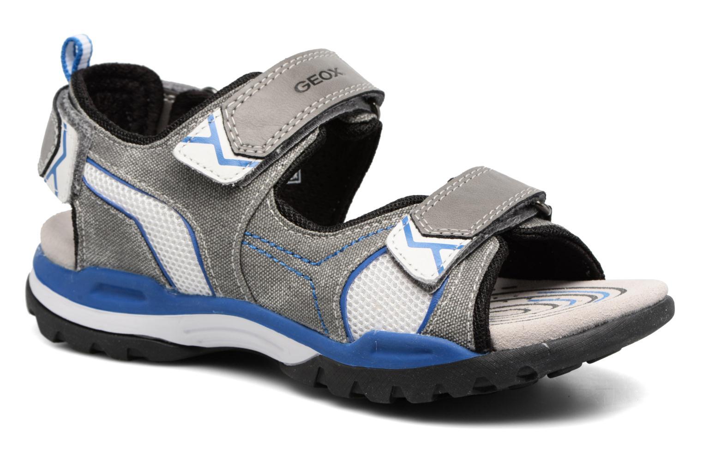 Sandales et nu-pieds Geox J Borealis B. D J720RD Gris vue détail/paire