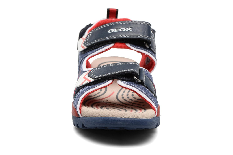 Sandales et nu-pieds Geox J Borealis B. D J720RD Bleu vue portées chaussures