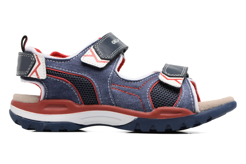 Sandales et nu-pieds Geox J Borealis B. D J720RD Bleu vue derrière