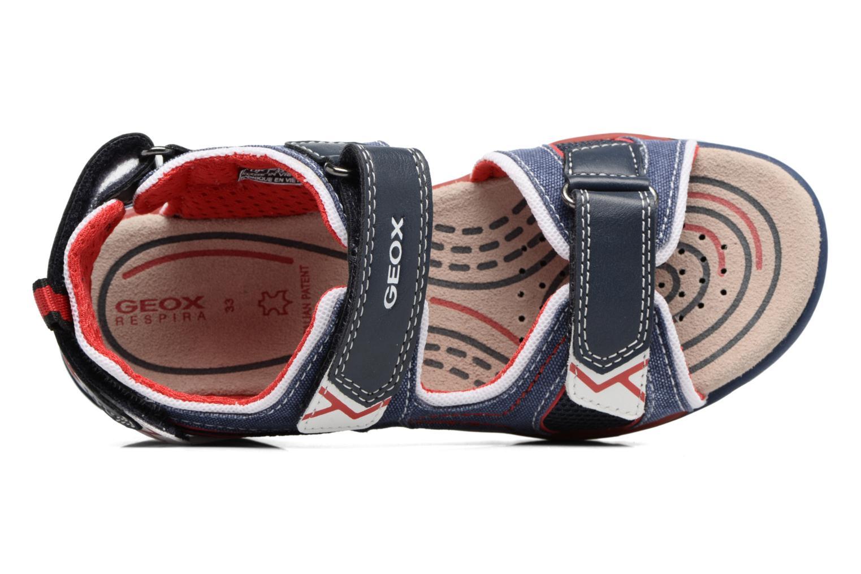Sandales et nu-pieds Geox J Borealis B. D J720RD Bleu vue gauche