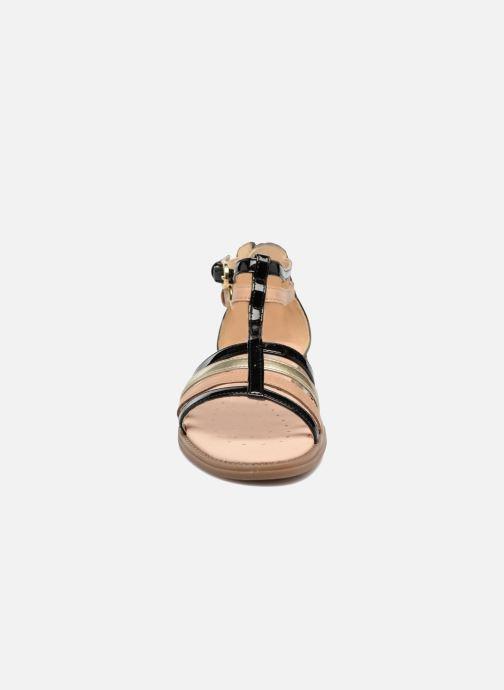 Sandales et nu-pieds Geox J S.Karly G. D J7235D Noir vue portées chaussures