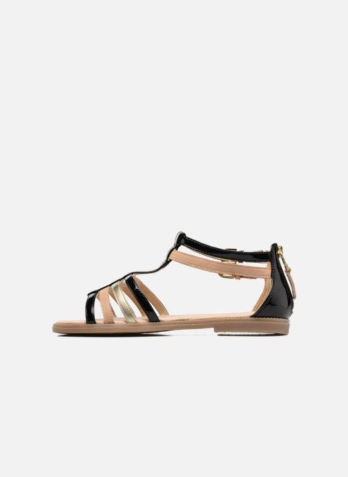 Sandales et nu-pieds Geox J S.Karly G. D J7235D Noir vue face
