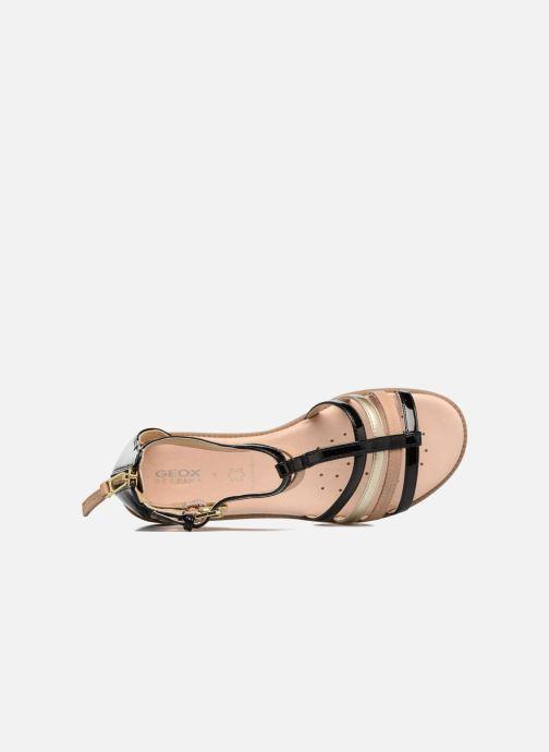 Sandales et nu-pieds Geox J S.Karly G. D J7235D Noir vue gauche