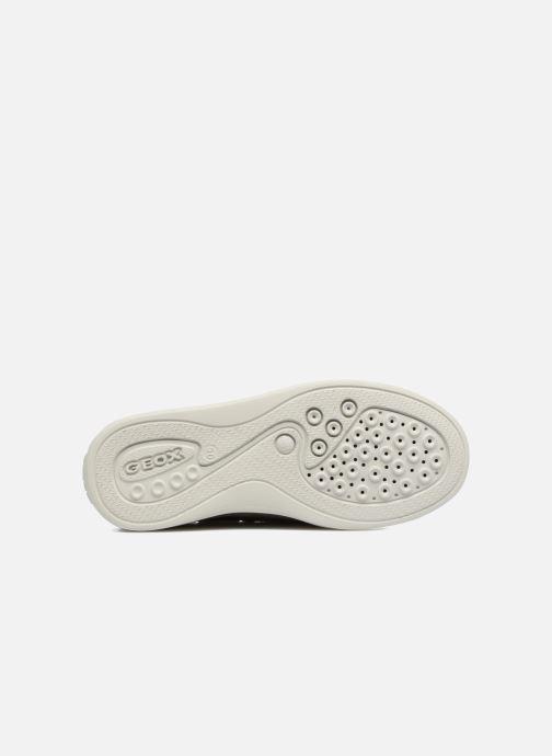 Chaussures à scratch Geox J Anthor B. F J723HF Gris vue haut