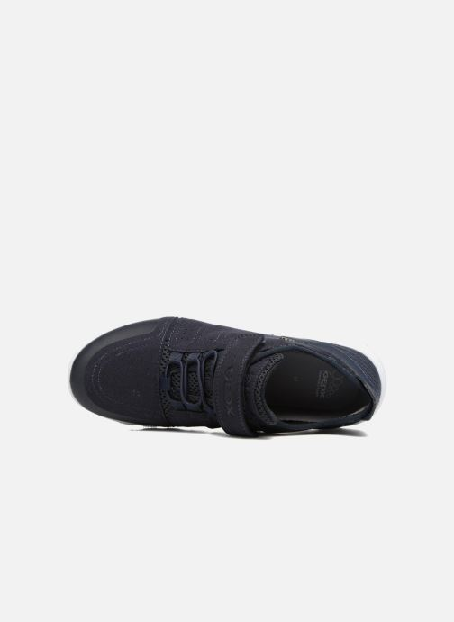 Sneakers Geox J Xunday B. C J723NC Azzurro immagine sinistra
