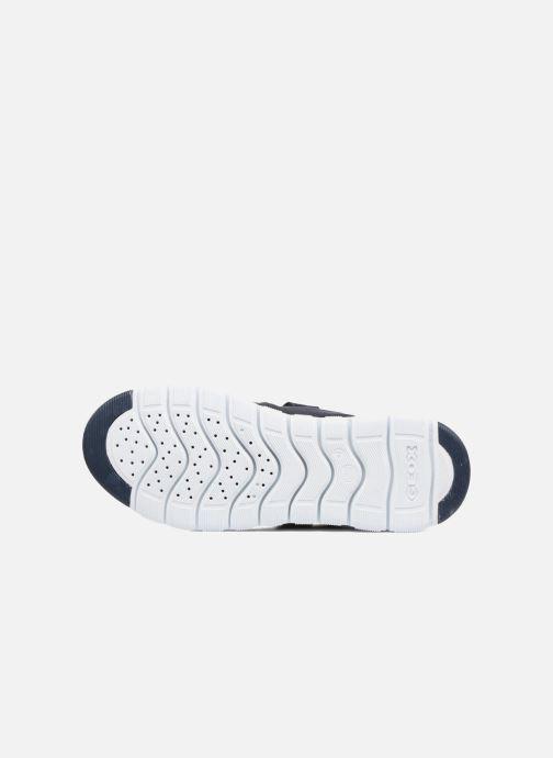 Sneakers Geox J Xunday B. C J723NC Azzurro immagine dall'alto