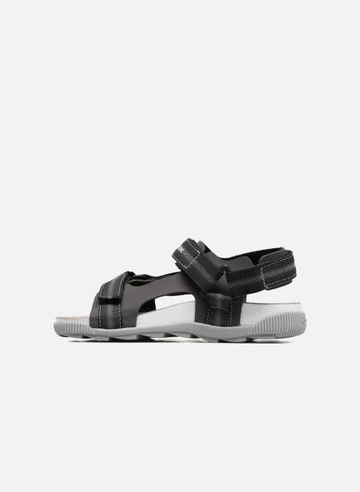 Sandales et nu-pieds Geox J Sandal Storm B J7242B Gris vue face