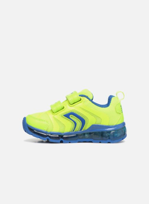 Sneakers Geox J Android B. CJ7244C Gul se forfra