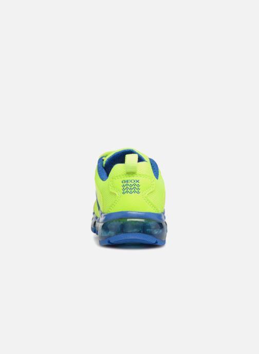 Baskets Geox J Android B. CJ7244C Jaune vue droite