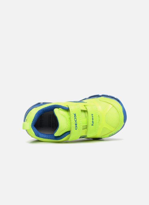 Sneakers Geox J Android B. CJ7244C Gul se fra venstre