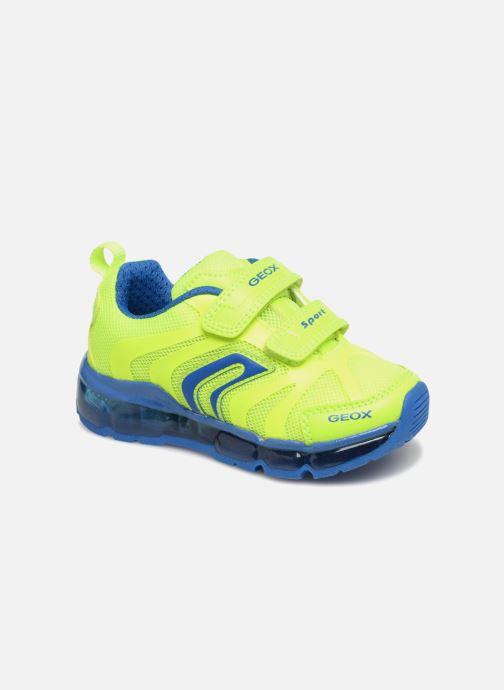 Sneakers Geox J Android B. CJ7244C Gul detaljeret billede af skoene