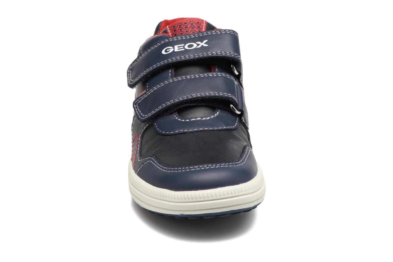 Baskets Geox J Vita A J72A4A Bleu vue portées chaussures