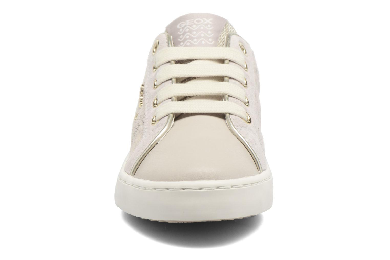 Baskets Geox J Kiwi G. G J72D5G Beige vue portées chaussures