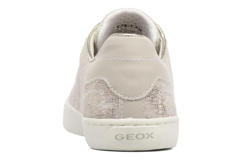 Baskets Geox J Kiwi G. G J72D5G Beige vue droite