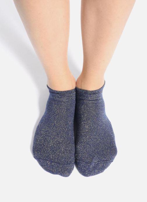 Socken & Strumpfhosen My Lovely Socks Chaussettes Invisibles Métalisées AVA blau ansicht von oben