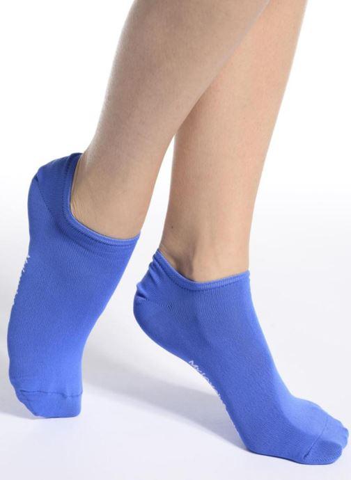 Chaussettes et collants My Lovely Socks Chaussettes Invisibles Fluo SACHA Bleu vue haut