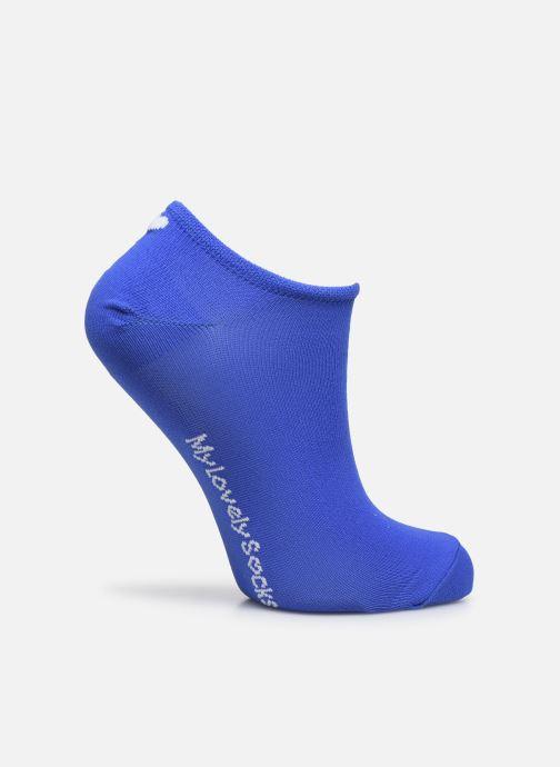 Chaussettes et collants My Lovely Socks Chaussettes Invisibles Fluo SACHA Bleu vue détail/paire