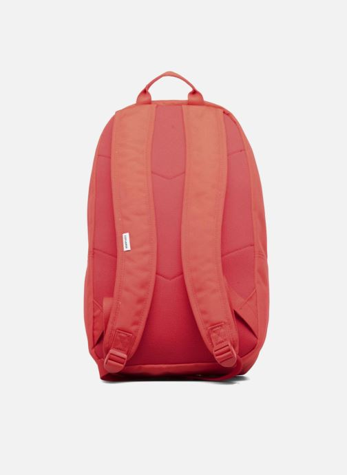 Mochilas Converse EDC poly Backpack M Rojo vista de frente
