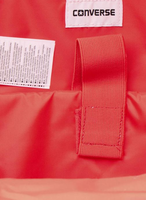 Mochilas Converse EDC poly Backpack M Rojo vistra trasera