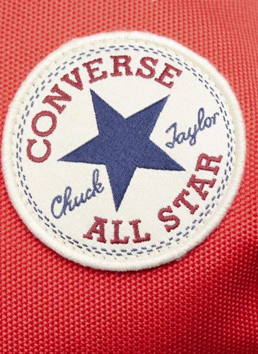 Mochilas Converse EDC poly Backpack M Rojo vista lateral izquierda