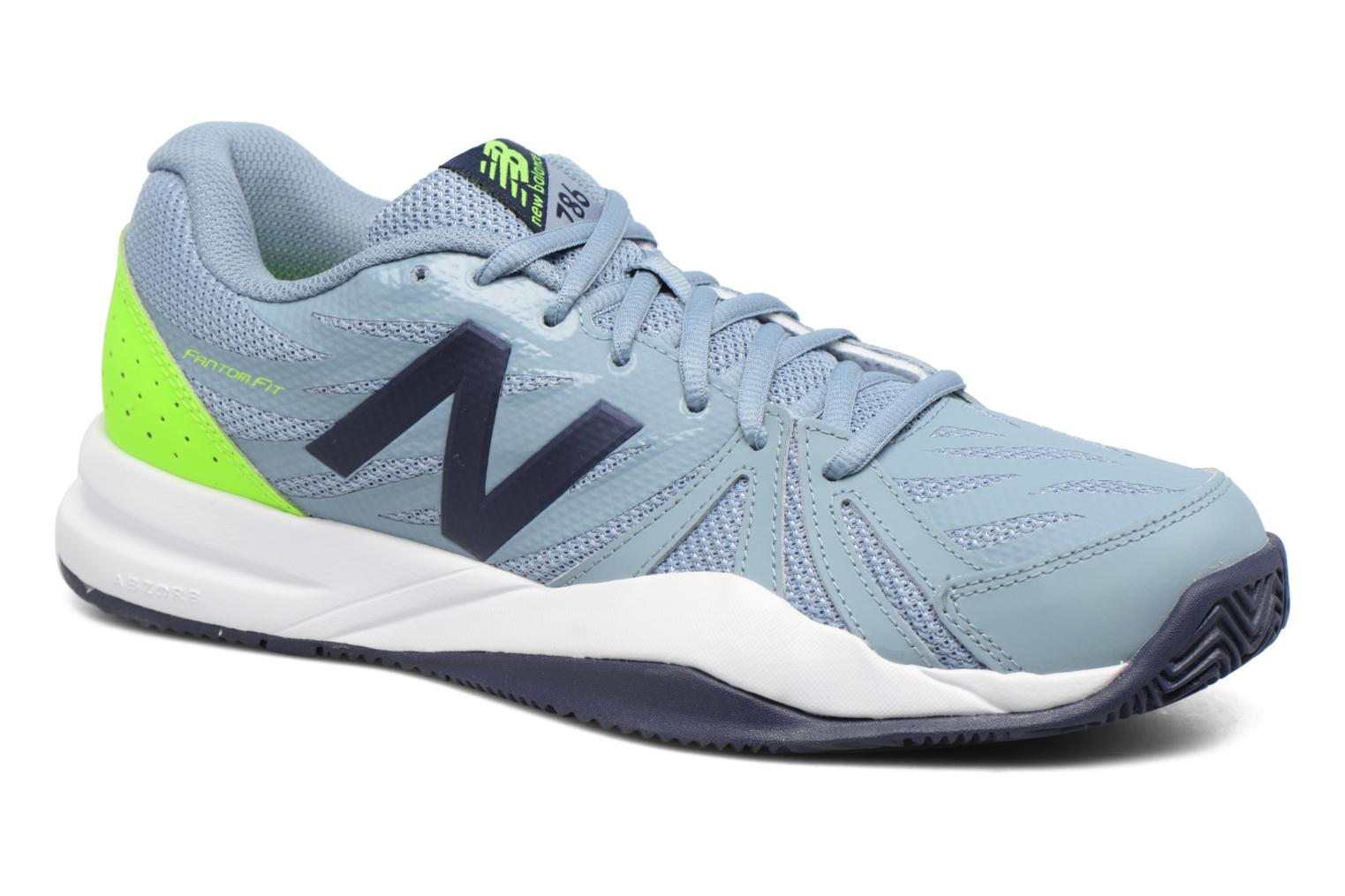 Sport shoes New Balance MC786 Grey detailed view/ Pair view