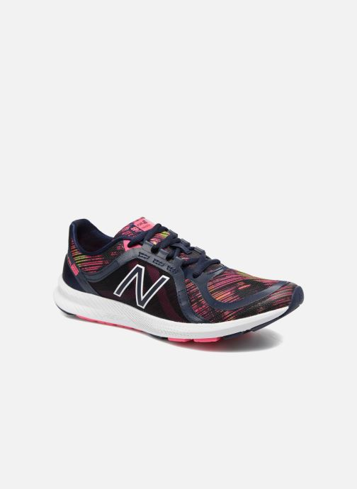 Sport shoes New Balance WX77 Blue detailed view/ Pair view