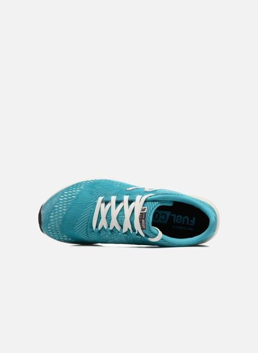 Sport shoes New Balance WXAGL Blue view from the left