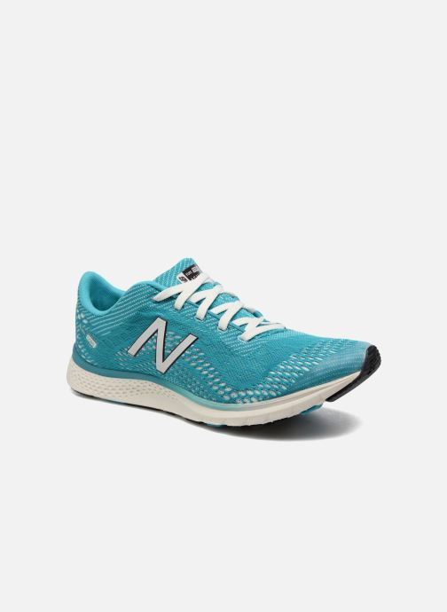 Sport shoes New Balance WXAGL Blue detailed view/ Pair view