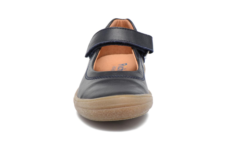 Ballerines Richter Daniela Bleu vue portées chaussures