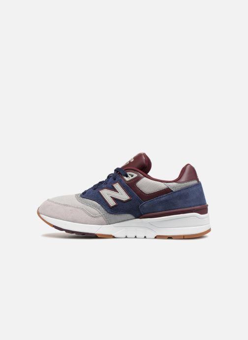 Sneakers New Balance ML597 Blauw voorkant