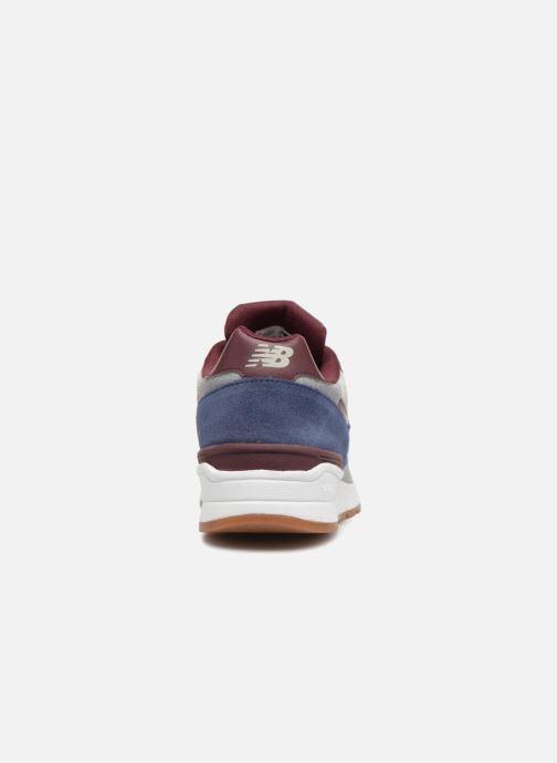 Sneakers New Balance ML597 Blauw rechts