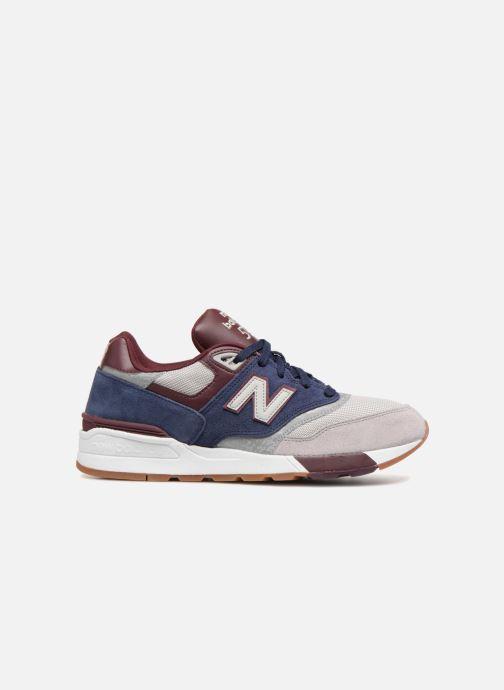Sneakers New Balance ML597 Blauw achterkant