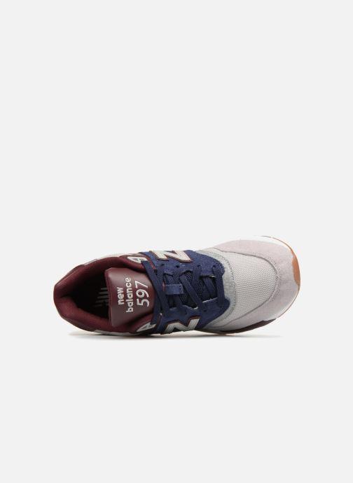 Sneakers New Balance ML597 Blauw links