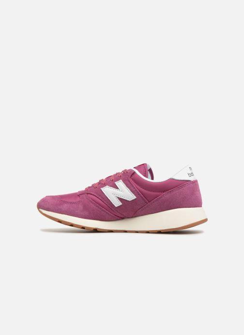 Sneaker New Balance WRL420 rosa ansicht von vorne