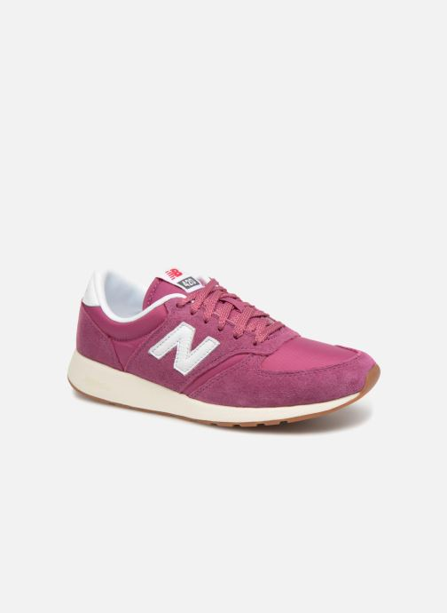 Trainers New Balance WRL420 Pink detailed view/ Pair view