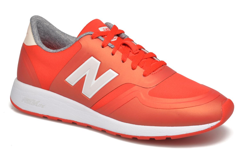 Sneakers New Balance WRL420 Rød detaljeret billede af skoene