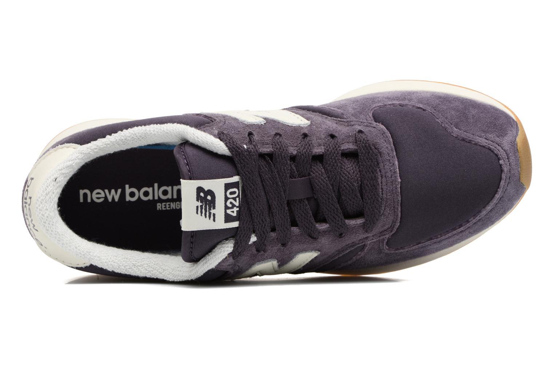 Sneakers New Balance WRL420 Lilla se fra venstre