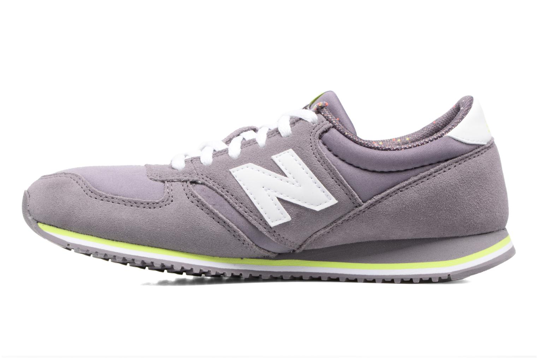 Sneaker New Balance WRL420 lila ansicht von vorne