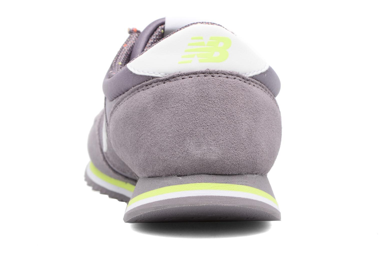 Sneaker New Balance WRL420 lila ansicht von rechts