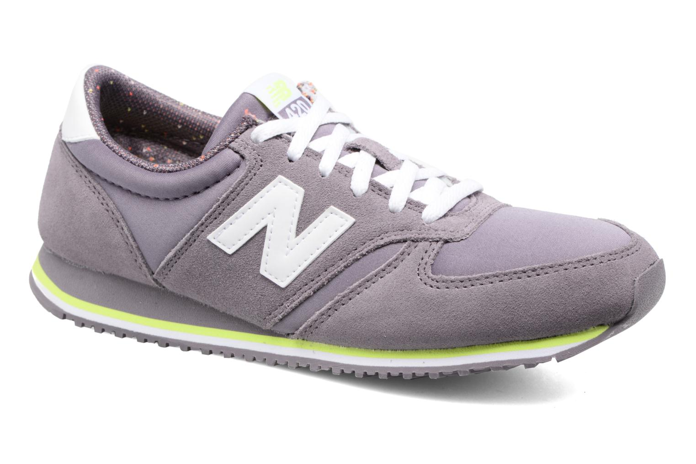 Sneaker New Balance WRL420 lila detaillierte ansicht/modell