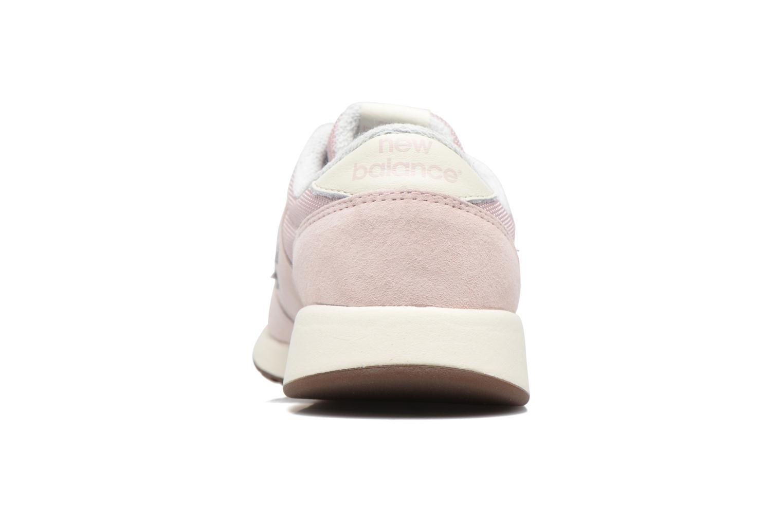 Sneaker New Balance WRL420 rosa ansicht von rechts