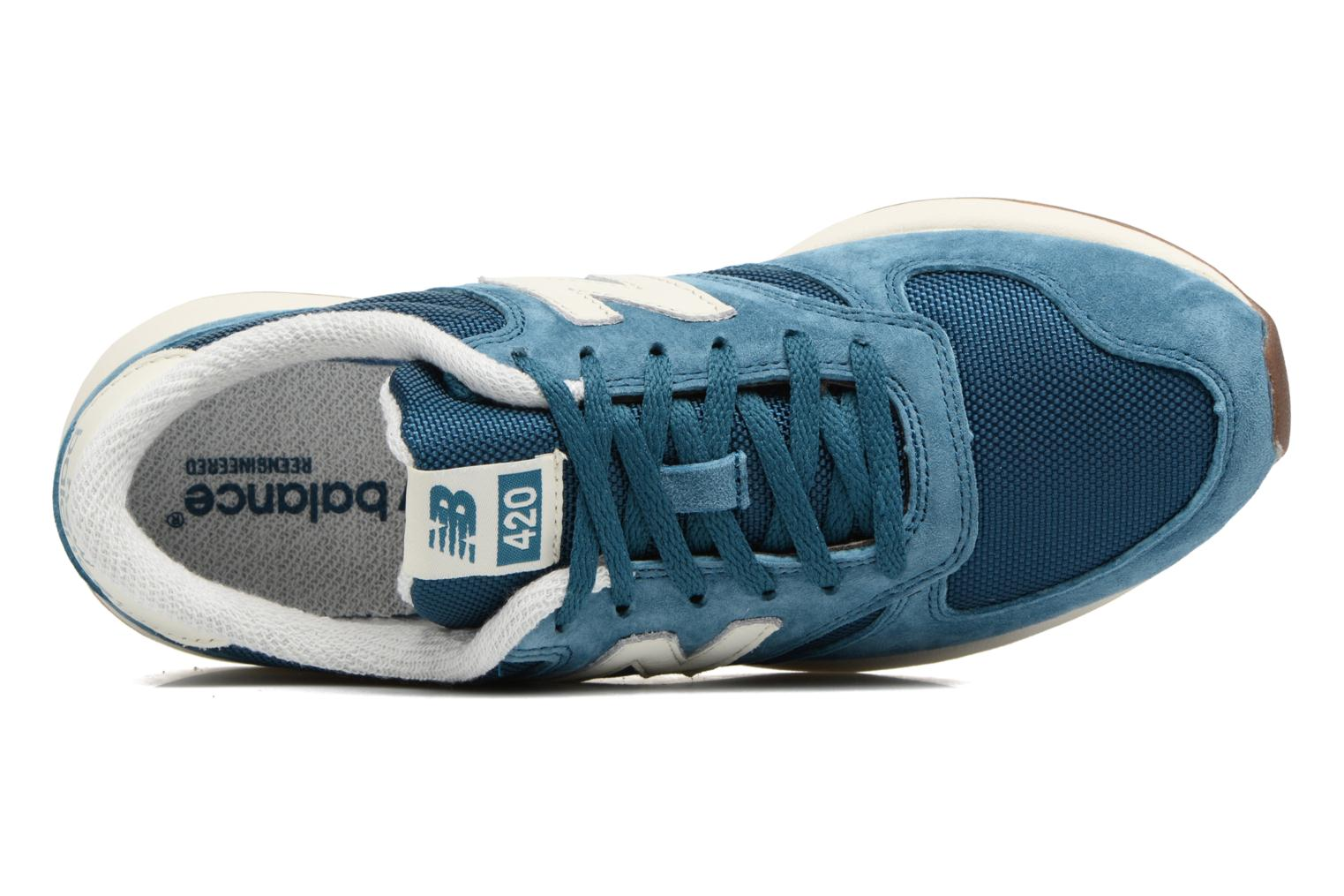 Trainers New Balance WRL420 Blue view from the left