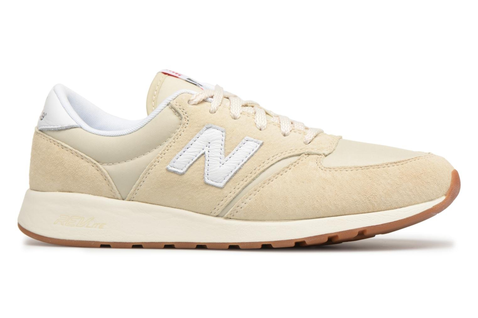Trainers New Balance WRL420 Beige back view