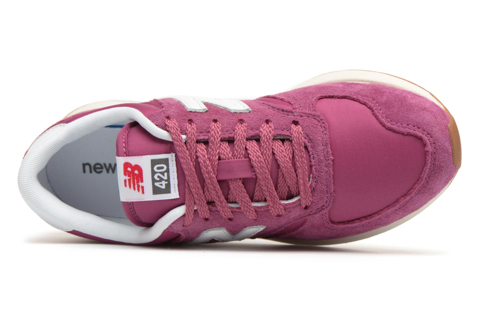 Trainers New Balance WRL420 Pink view from the left