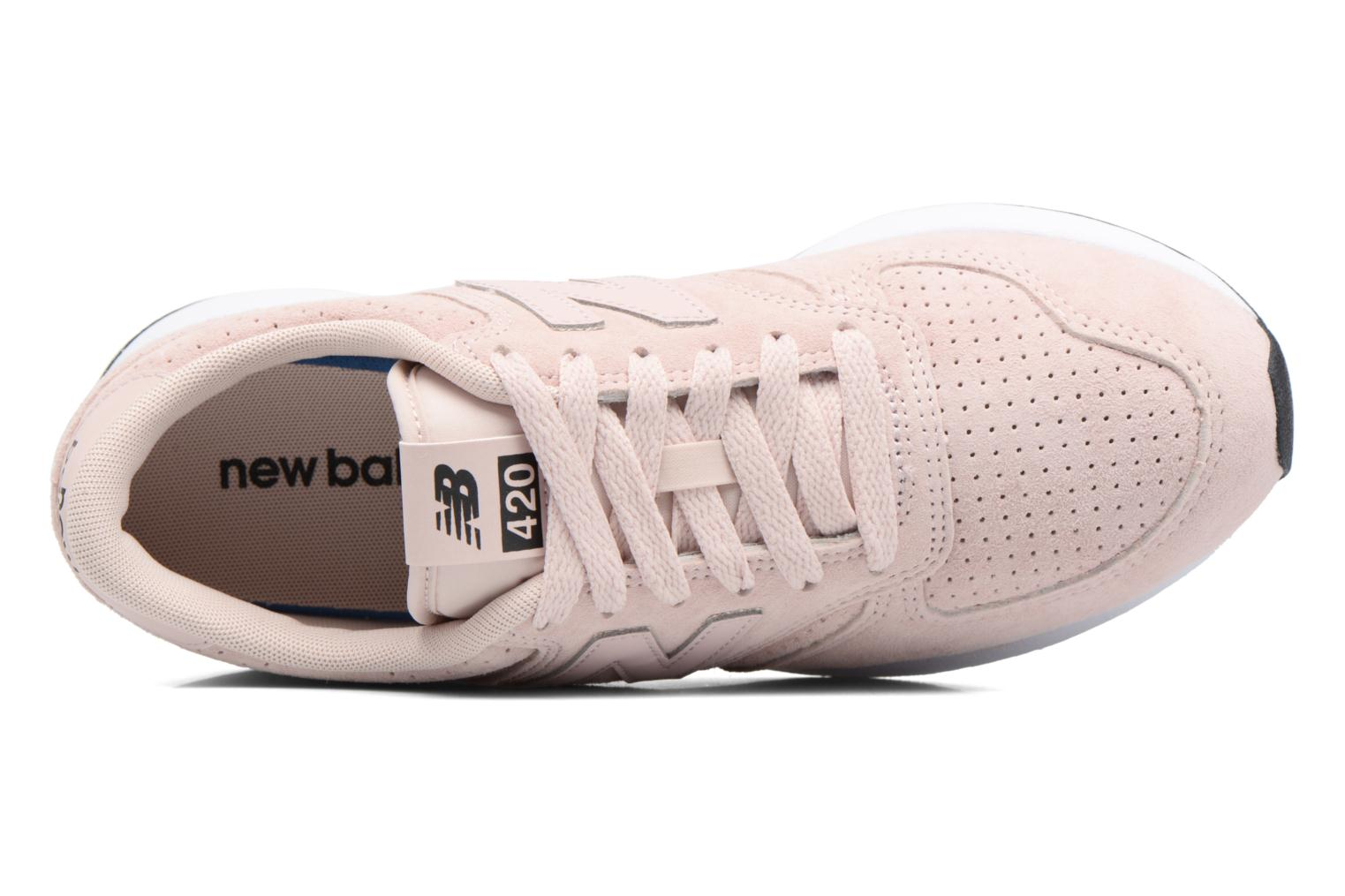 Trainers New Balance MRL420 W Pink view from the left