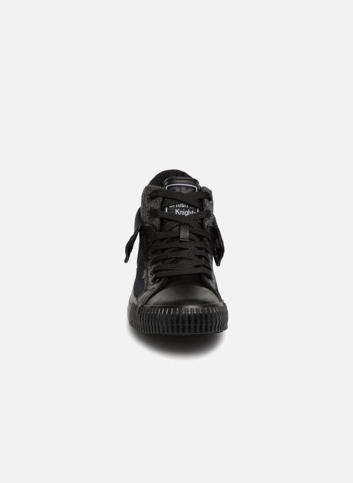 Baskets British Knights Roco Noir vue portées chaussures