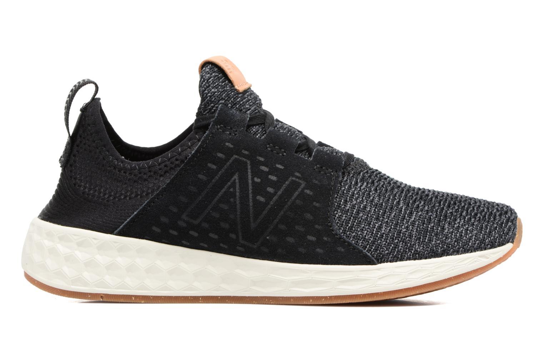 Chaussures de sport New Balance WCRUZ Noir vue derrière