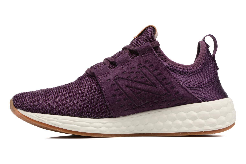 Chaussures de sport New Balance WCRUZ Violet vue face