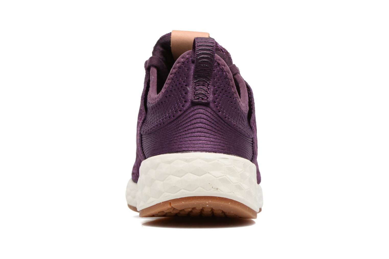 Chaussures de sport New Balance WCRUZ Violet vue droite